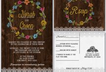 Wood lace and wildflowers / Barn wood lace and wildflowers wedding theme