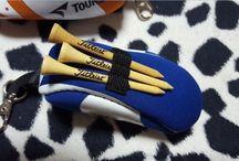 Tourstage Golf Ball Shoe shape Case Blue Color