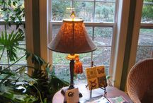 Home Decor - Lamps / So many lamps to decorate with! Here are some at Butterfly Creek Inn