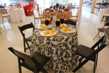 Our Showroom / Let Our Showroom Inspire you! A Special Thanks to Lendable Linens for Letting us Use Their Beautiful Linens