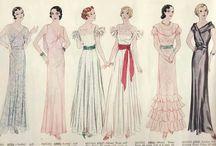 Одежда разных эпох / Одежда и ее элементы, исторические костюмы