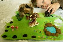 Felt and Fabric Playscapes...