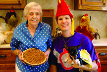 Happy Thanksgiving!  / For some great holiday recipes, including Mama's Superstar Stuffing, visit http://www.davidchicken.com/fun-club/mama-chickens-recipes/
