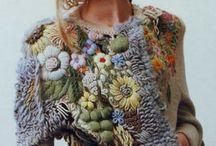 Вышивка на трикотажной одежде