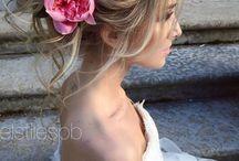 bride hair makeup