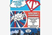 Super Hero Comic Inspired Inspirational Board