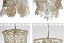 shabby chic light shades