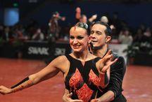 Martina Váradi & Andrea Silvestri / Ők a latin-amerikai táncok magyarországi 7-szeres bajnokai. Világkupa 2015-ös évi nyertesei. A kedvenc párosom.