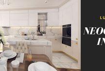 Design Interior Apartament în stil Neoclasic, Complex Rezidențial Valletta