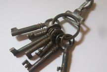Vintage Keys / Old Keys, Skeleton, Clock Keys, old car keys!