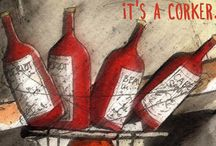 Wine / For the love of Wine. / by Michelle Campbell Art