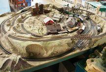 réseau trains miniatures