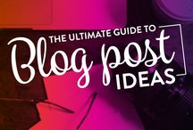 Blogging / Learning about blogging from the best