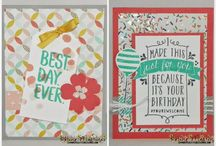SU Occasions & SAB 2015 / Stampin' Up Occasions Catalog & Sale-A-Bration Catalog cards and projects  for 2015
