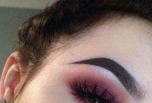 makeup ، Hair