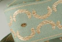 Beautiful fabrics and trims
