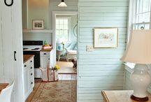 Кухня летний дом
