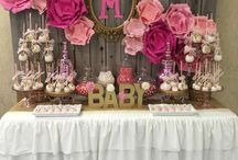 Tanu Baby Shower Ideas / Games, decorations, finger food and cake!