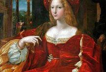 XVI robes / 16th dresses/XVII wiek suknie damskie