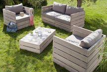 DECORAZIONE DIY CON PALLET / Idee di decorazione che puoi fare con legno riciclato (pallet).