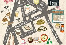 Mapspiration / maps cities city-maps houses architecture illustrations