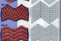 deky vlnky háčkování