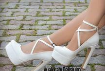 Gelinlik ayakkabıları