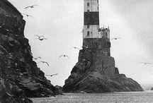 Lighthouses / Lighthouses. Sea Faróis. Mar.
