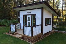 Leikkimökki, playhouse
