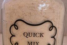 Quick mix recipes