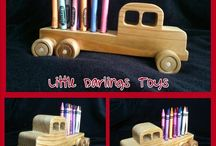 Little Darlings Toys. Wooden Toys / Wooden toys made by Little Darlings Toys