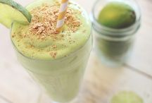 Snacks and smoothies