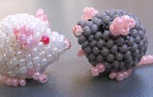 Cute beaded things - With pattern