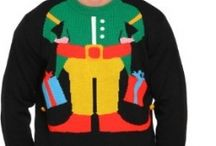 Ugly Christmas sweaters / by Connie Wine