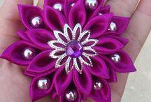 kwiat fiolet