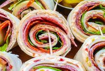 Sandwich Roll-Ups Ideas
