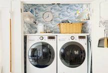 Home - laundry closet