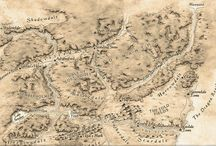 Forgotten Realms Map arts