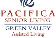 Pacifica Senior Living Green Valley / We are proud of the outstanding reputation we have earned. It is a reputation built on strong values, a solid work ethic and the best care and outside medical services available. At Pacifica Senior Living Green Valley, you will enjoy retirement lifestyle provided in a stunning setting; a lifestyle rich with services, amenities and endless possibilities.