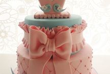 girly cakes