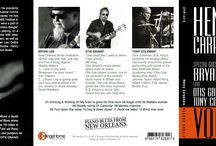 Music cd-rom design / Cover design and photo session for a blues singer album.