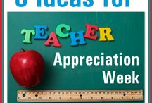 Teacher Gifts / Appreciating those that work hard to teach our kiddos