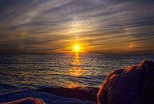 Sun Rise, Sun Set and Moon Beams / by Denise Swiezy