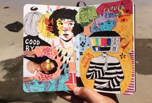 sketchbook & journal