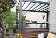 Decking &pool area / by Bec B