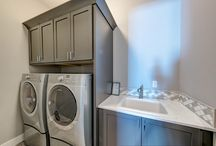 Laundry Rooms / Stylish Laundry rooms are on-trend right now. Get ideas here.