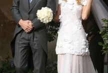 Celebrity Wedding Style / Our top picks of Celebrity Wedding from iconic past brides to newly weds.