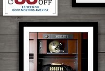 Good Morning America Football Deals and Steals / Personalized NFL products for every football fan. / by Replay Photos