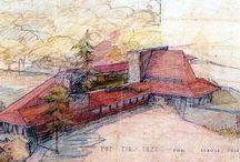 Frank Lloyd Wright - Desenho /Drawing