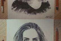Portraits Zeichnen